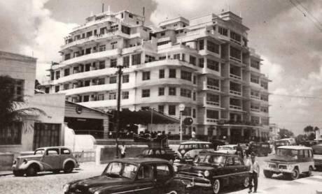 Iracema Plaza Hotel na década de 1950
